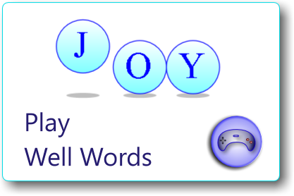 play well words